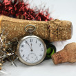 Foto Stock: Counting down to new year