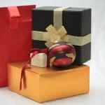 Christmas gifts — Stock Photo #1701261
