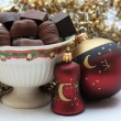 Christmas chocolates — Stock Photo #1705552