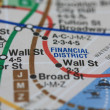 New York subway map — Stock Photo #1706035