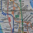 Foto Stock: New York subway map