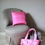Nterior design: Classic chair — Stock Photo