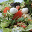 Mozzarella tomato salad — Stock Photo #1707872