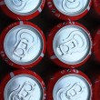 Red soda cans - Stock Photo