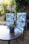 Zahradní nábytek - zahradní set — Stock fotografie