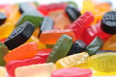 Pile of assorted candies, winegums — Stock Photo