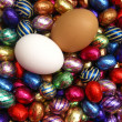 Chocolate easter eggs — Stock Photo #1713655