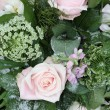 Pink rose flower arrangement — Stockfoto