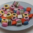 Stock Photo: Allsorts liquorice