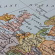 Vintage 1956 map: Europe — Stock Photo #1747172