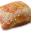 Bun with sesame — Stock Photo