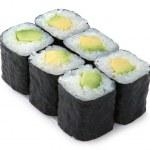 Japanese avacado roll — Stock Photo #1651053