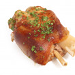 Stock Photo: Rosted loin pork