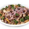Mushrooms salad — Stock Photo #1651444