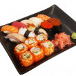 Stock Photo: Japanese mix sushi