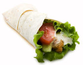 Chicken twister — Stock Photo