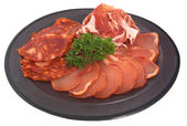 Mixed bacon meat — Stock Photo