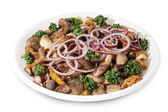 Mushrooms salad — Stock Photo