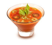 Gaspacho soup — Stock Photo
