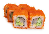 Japanese roll with crab — Stock Photo