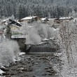 Winter river - Stock Photo