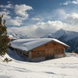 House in mountain — Stockfoto