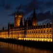 Parliament London UK evening view — Stok fotoğraf #1675332