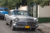 Old car on street Varadero Cuba — Stock Photo