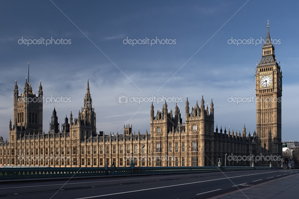 Houses of Paliament in London  Stock Photo #1674961