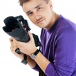Photographer man — Stock Photo