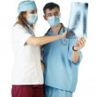 Stock Photo: Surgeon and Doctor