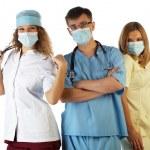 Surgeon Doctor Nurse — Stock Photo #1698669
