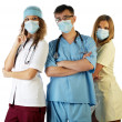 Surgeon Doctor Nurse — Stock Photo