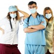 Surgeon Doctor Nurse — Stock Photo #1698692