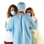 Surgeon Doctor Nurse — Stock Photo #1698706
