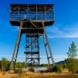 Old mine tower in Spain. - Stock Photo