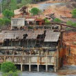 Stock Photo: Abandoned coal mine