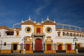 Plaza de Toros, Seville, Spain. — Stock Photo