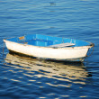 Blue boat - Stock Photo