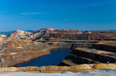 Rio Tinto Mining Area in Andalusia. — Stock Photo
