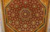 Ceiling in the Alcazar, Seville. — Stock Photo