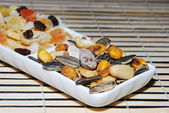 Dried fruits and vegetables. — Stock Photo