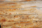 Detail of old wood planks — Stock Photo