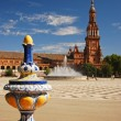 Plaza de Espana, Seville — Stock Photo #1692924