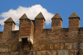 El alcázar, sevilla, españa. — Foto de Stock