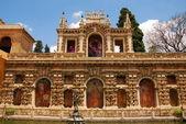Alcazar, sevilla, španělsko. — Stock fotografie