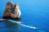 Algarve Coast Lagos - Portugal — Stock Photo