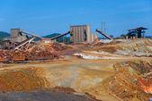 La miniera di riotinto — Foto Stock
