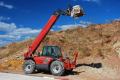 Construction equipment - loader — Stock Photo