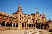 Plaza de españa in sevilla — Stockfoto